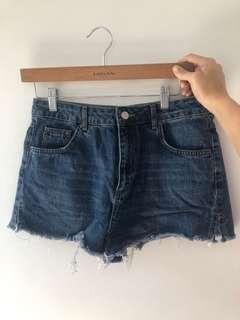 Topshop mom shorts sz 12