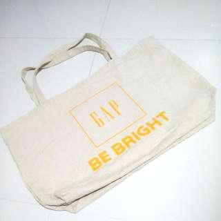 Gap Canvas Grocery Tote Bag