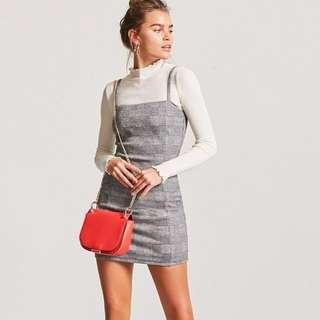 Forever 21 Glen Plaid mini dress