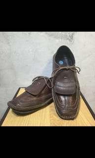vintage 古著 hashag 真皮鞋
