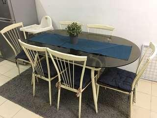 Dining Table Set❗️moving out sale❗️