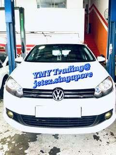 #jetexexhausts_vw.  #jetexexhaustsasialink. Vw Golf mk6 1.4tsi in the house for the upgrade of Jetex LTA approval catback system