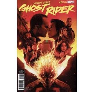 DAMNATION - JOHNNY BLAZE GHOST RIDER #1 (2018) First issue! Variant Edition