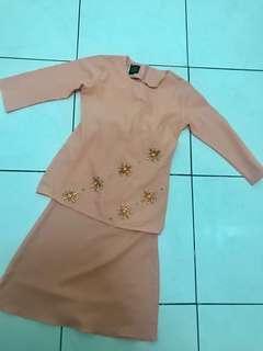 Baju Kurung Moden 3/4 thn