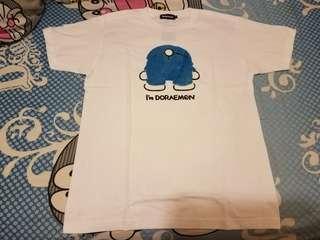 日本期間限定Sanrio Doraemon 叮噹 多啦a夢 哆啦a夢 短袖 衣服 T-Shirt t恤 上衣 衫 top tee