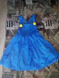 Mario girl costume 6-8 yrs old