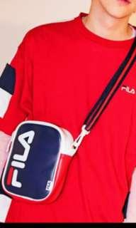 Free delivery Ready Stock Brand new Fila hype trendy sling bag