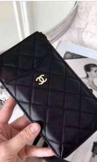 Chanel clutch/phone/wallet