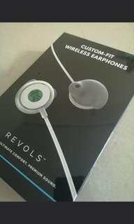 Revols Bluetooth earpiece - tailor made to your ears! Kickstarter project!