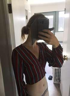 Tie Crop Size 8 or 10