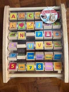 Brand new hape alphabet set