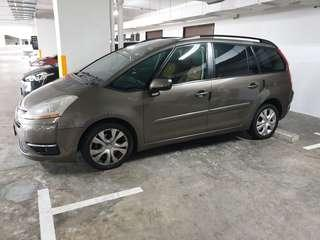 Citroen Grand C4 Picasso 1.6A for rent