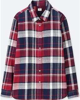 UNIQLO XS Flannel Shirt