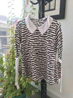 Zebra Top - PRELOVED