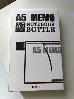 Brand new A5 Notebook Bottle