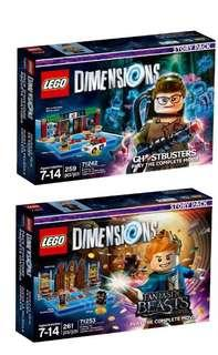 Ghostbusters™ Story Pack  71242 Fantastic Beasts and Where to Find Them™ Story Pack 71253