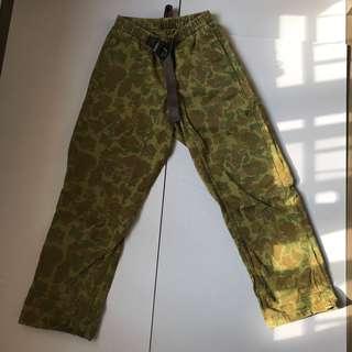 迷彩長褲 made in USA