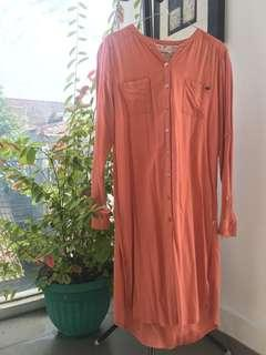 Cormiche - Nude Long Shirt