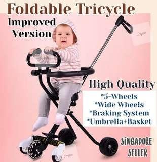 🚚 Foldable Tricycle / Stroller