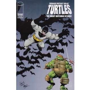 TEENAGE MUTANT NINJA TURTLES #9 (1996) Knight Watchman Rare HTF