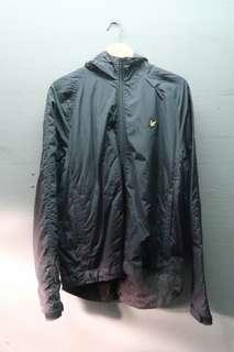 Lyle & Scott Vintage Zip Front Shell Jacket Black
