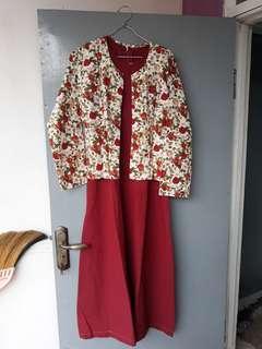 Dress / Jubah (bonus jilbab)