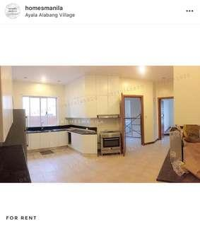 Newly Renovated Ayala Alabang House and Lot For Rent / Lease