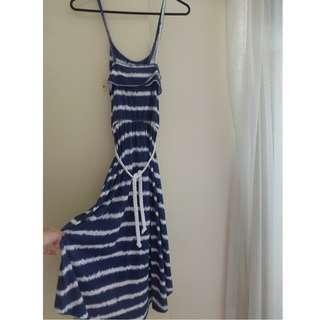 Beach striped Maxi dress