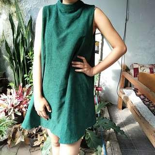 Green blouse
