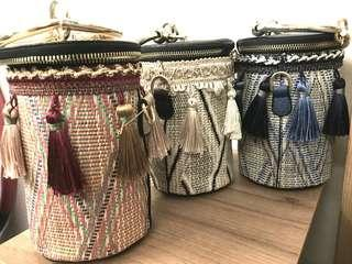 Ratten bag with tassels