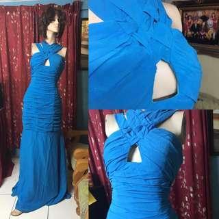 Beauty Pageant Dress ( Bare back low cut )