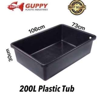 New Water Storage Plastics Tub