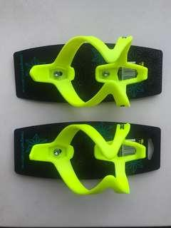 Supacaz Fly Cage Poly Bottle Cage - neon yellow