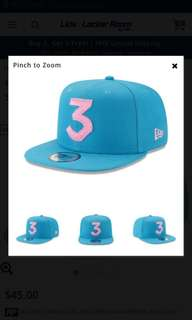 f5db64aac4187 Chance The Rapper New Era 3 Snapback Cap