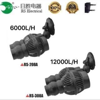$20 RS 6000L/H 12w wave maker   RS 12000L/H 24w wave maker   1 months warranty
