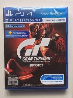 New and sealed: Gran Turismo Sport Ps4