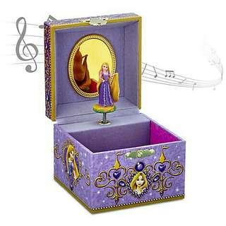 🚚 迪士尼 樂佩 長髮公主 珠寶音樂盒