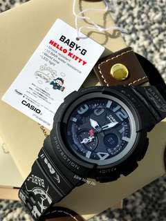 🚚 💕💕💕💯% original and authentic Hello Kitty x G-Shock BGA-190KT-1BDR , hello kitty watch , bga190 , ba190kt , bga190kt1 , bga190kt1bdr , Casio , CASIO , casio , gshock , g-shock , baby-g , babyg BABY-G