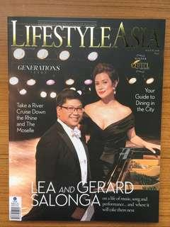 Lifestyle Asia (Lea and Gerard Salonga cover)