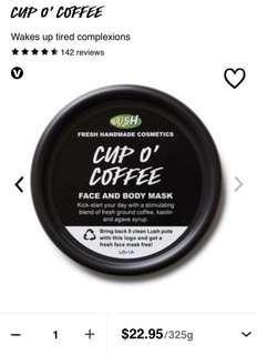 Lush Cup O Coffee Mask