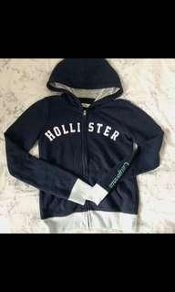 Hollister zip up hoodie💓💙