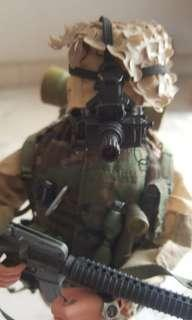 1/6 US army ranger soldier