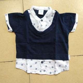 baju bayi atasan anak pipiniko