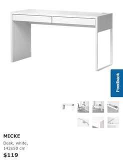 IKEA Micke Study Table