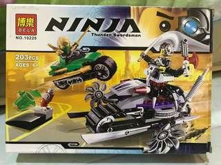 Ninja Thunder Swordman
