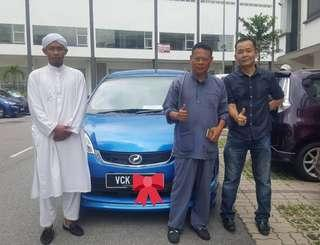New Perodua Alza Std 1.5 Without Loan at bank