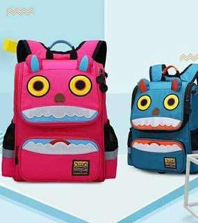 Pink school bag for children P1 - P6