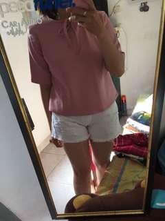 Pink / Peach Top Scuba
