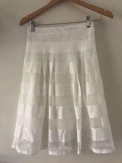 Ditto white skirt