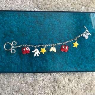 ♥️Preloved Disney Mickey mouse bracelet from Diva